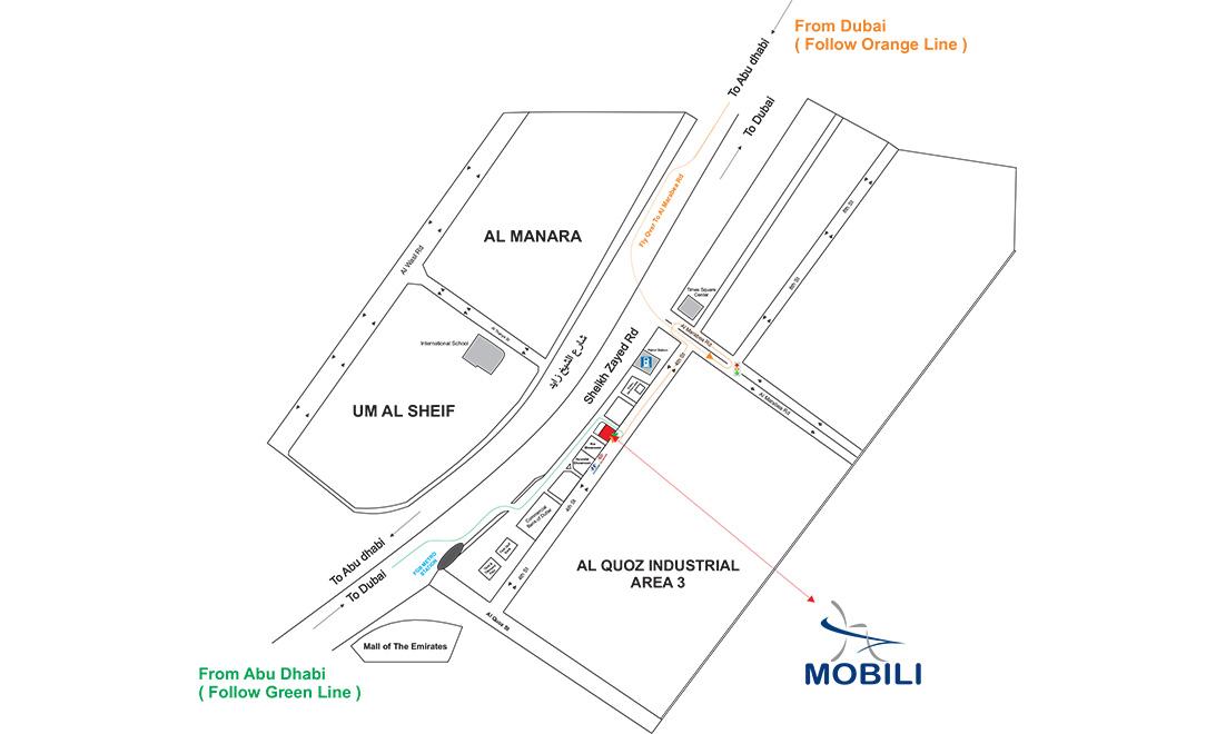 Mobili Emirates - Showrooms